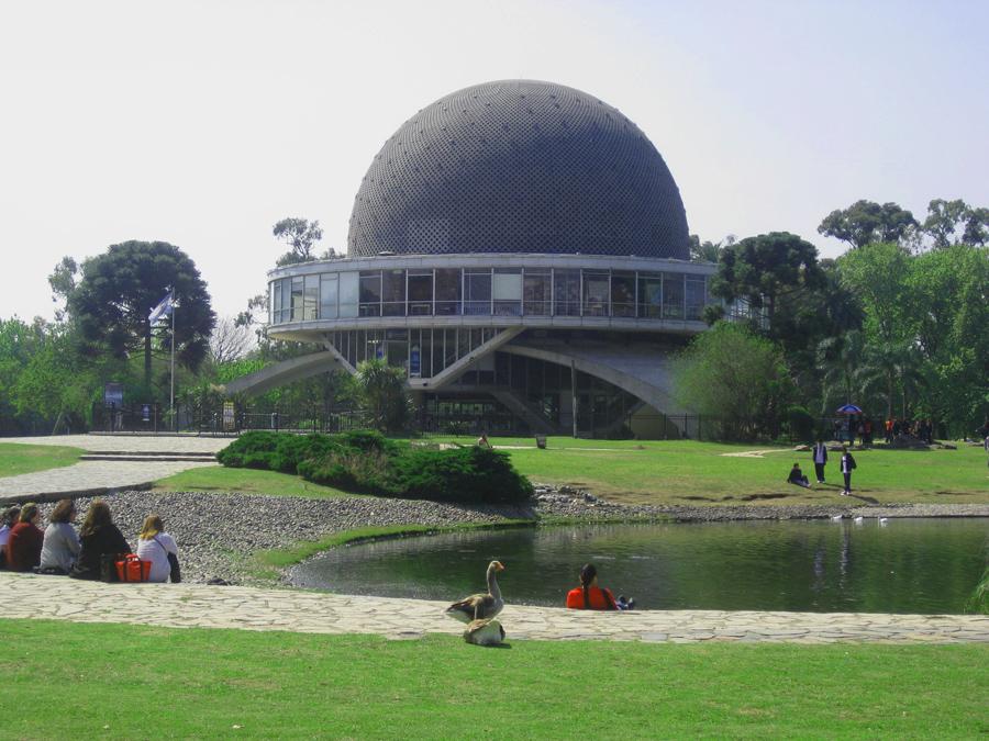 Galileo Galilei planetarium, Parque Tres de Febrero
