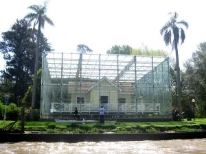 President Sarmiento's house, Tigre, Argentina