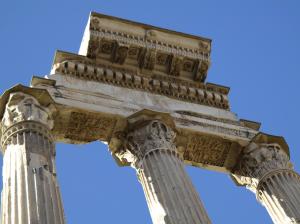 Tempio dei Castori, Foro Romano, Rome, Italy