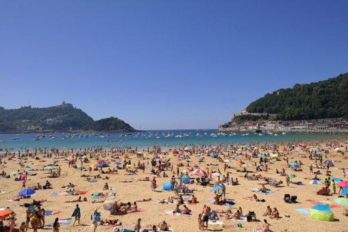 San Sebastián's iconic Playa de la Concha