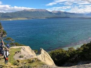 View of Isla Navarino in Chile, Isla Gable, Tierra del Fuego