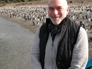 Charles the Penguin, Isla Martillo, Tierra del Fuego, Argentina