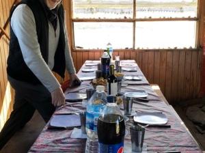 Lunch on Isla Gable, Tierra del Fuego, Argentina