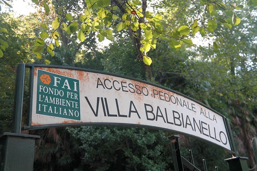 Villa del Balbianello, Lago di Como, Italia