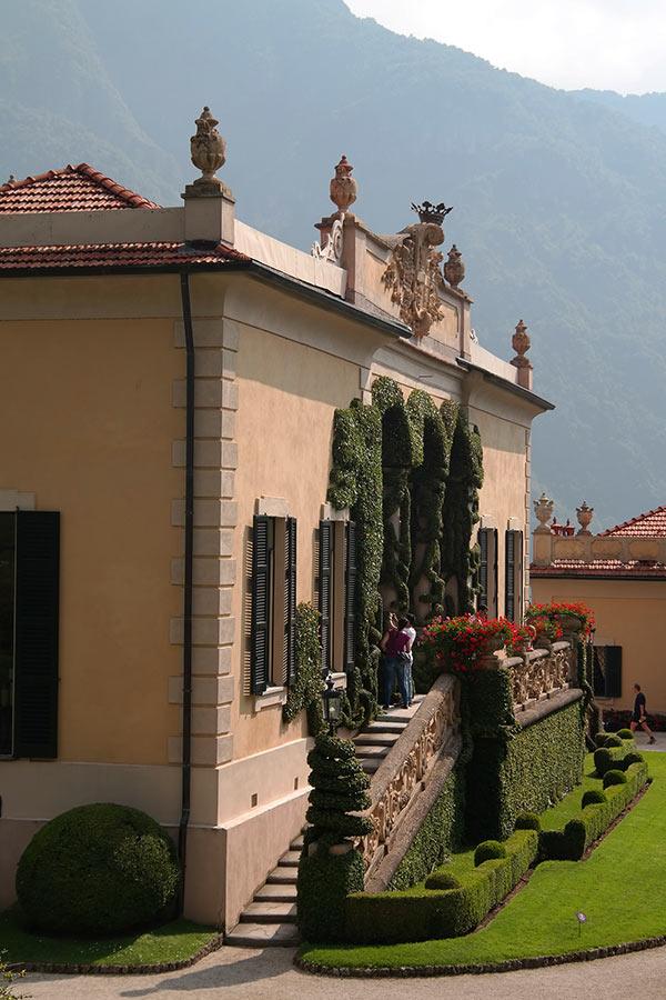Villa del Balbianello Loggia, Lago di Como, Italy