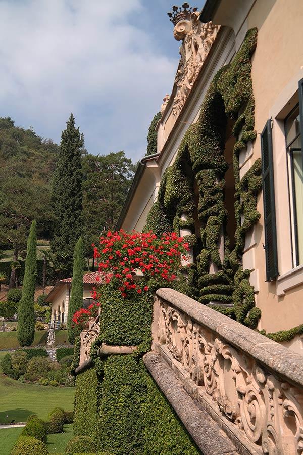 Villa del Balbianello Loggia, Lake Como, Italy