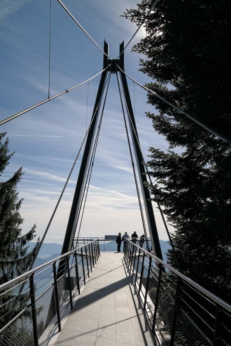 Passerelle Panoramique, Cardada, Switzerland