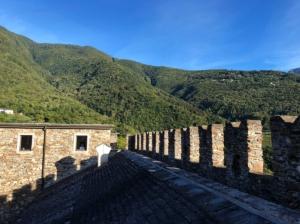 Castello di Sasso Corbaro, Bellinzona, Switzerland