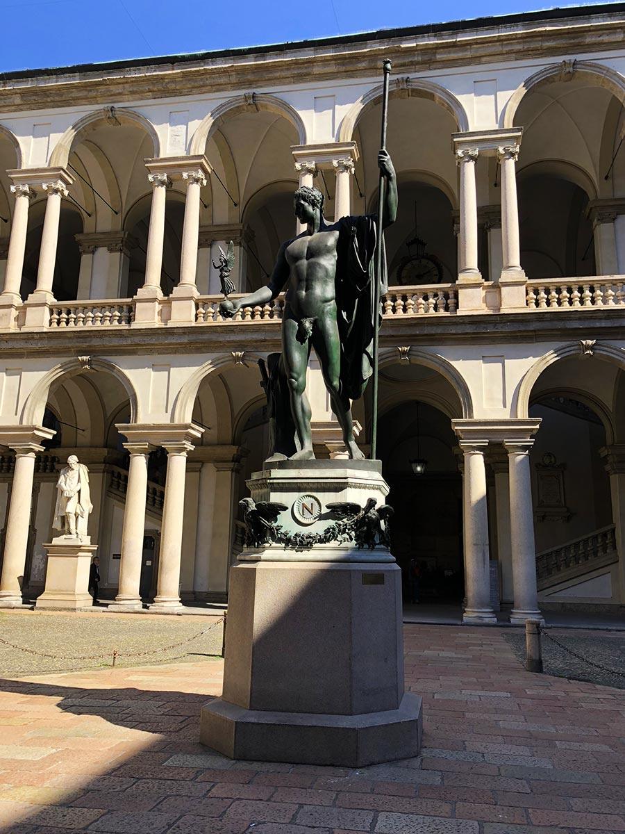 Palazzo di Brera, Milan, Italy