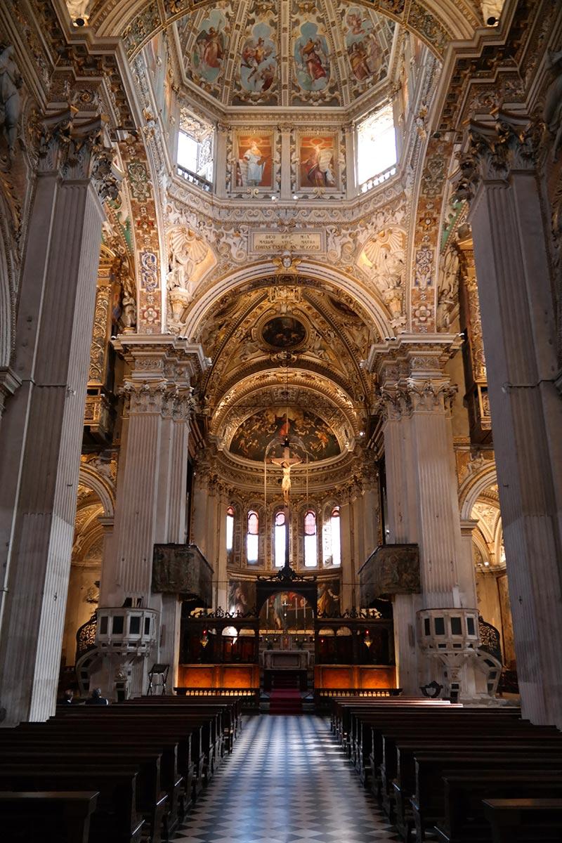 Basilica di Santa Maria Maggiore, Bergamo, Italia