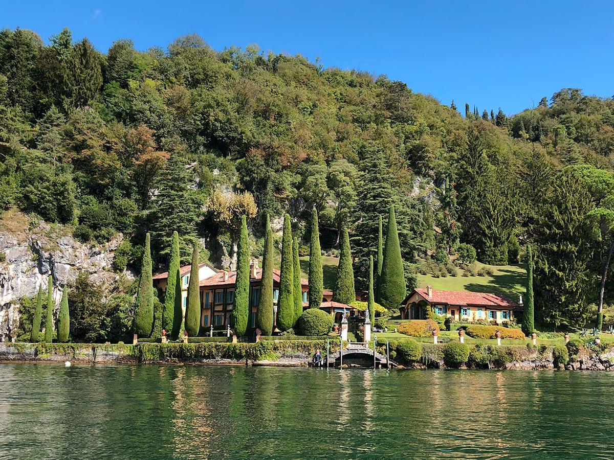 Villa La Cassinella, Lake Como, Italy