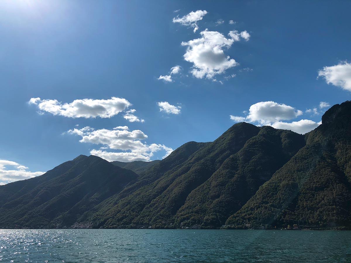 Monte Briante, Lago di Como, Italia