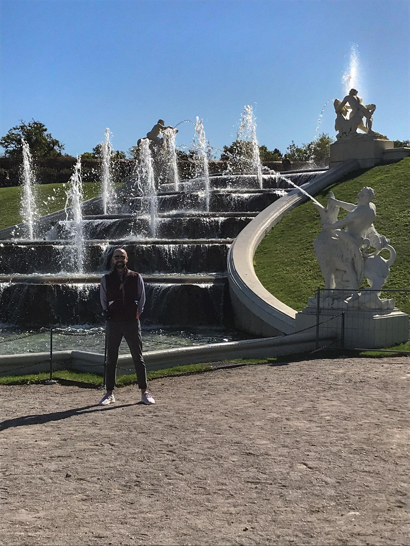 Belvedere Brunnen, Vienna, Austria