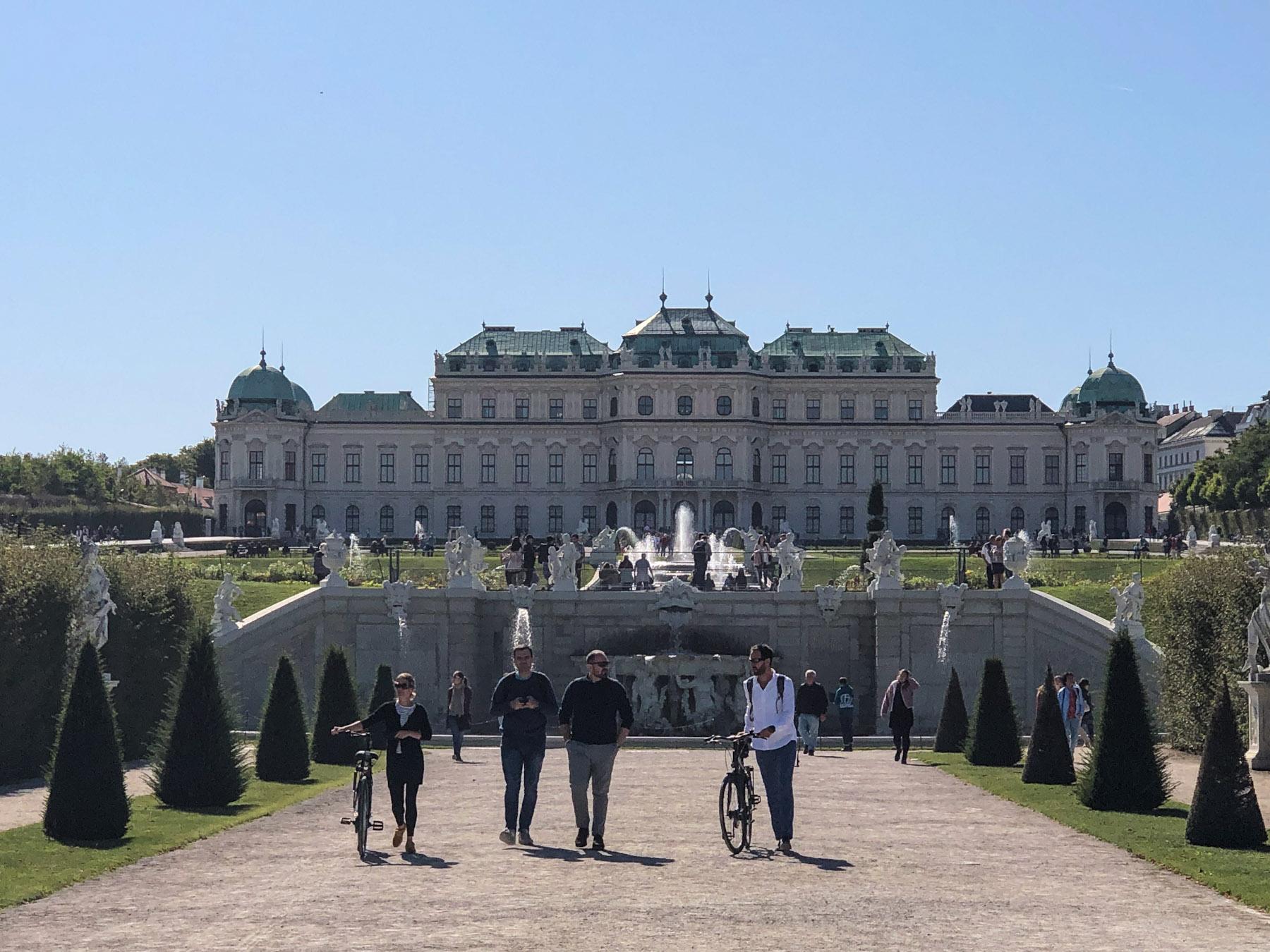 Belvederegarten, Vienna, Austria