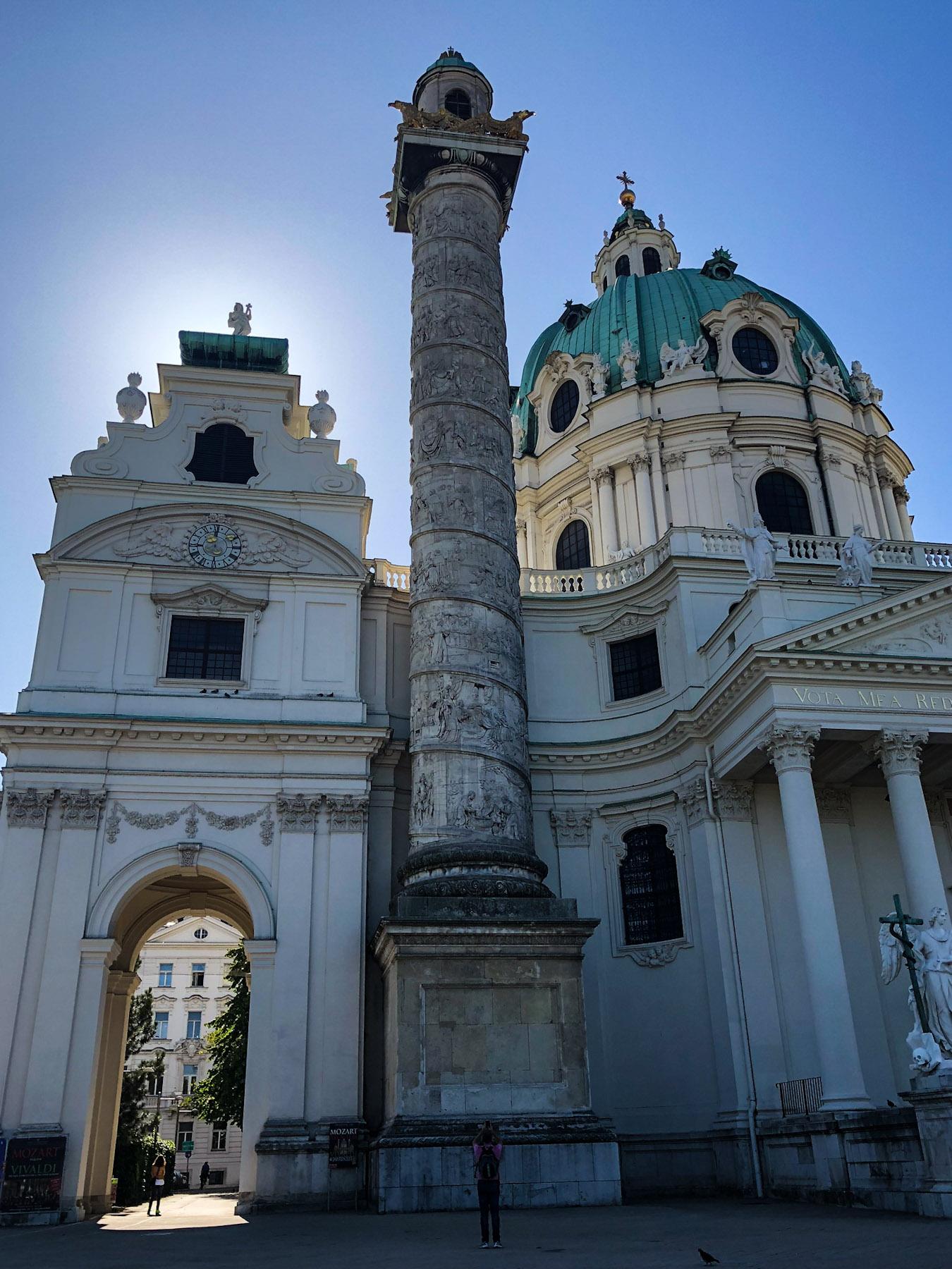 Karlskirche, Vienna, Austria