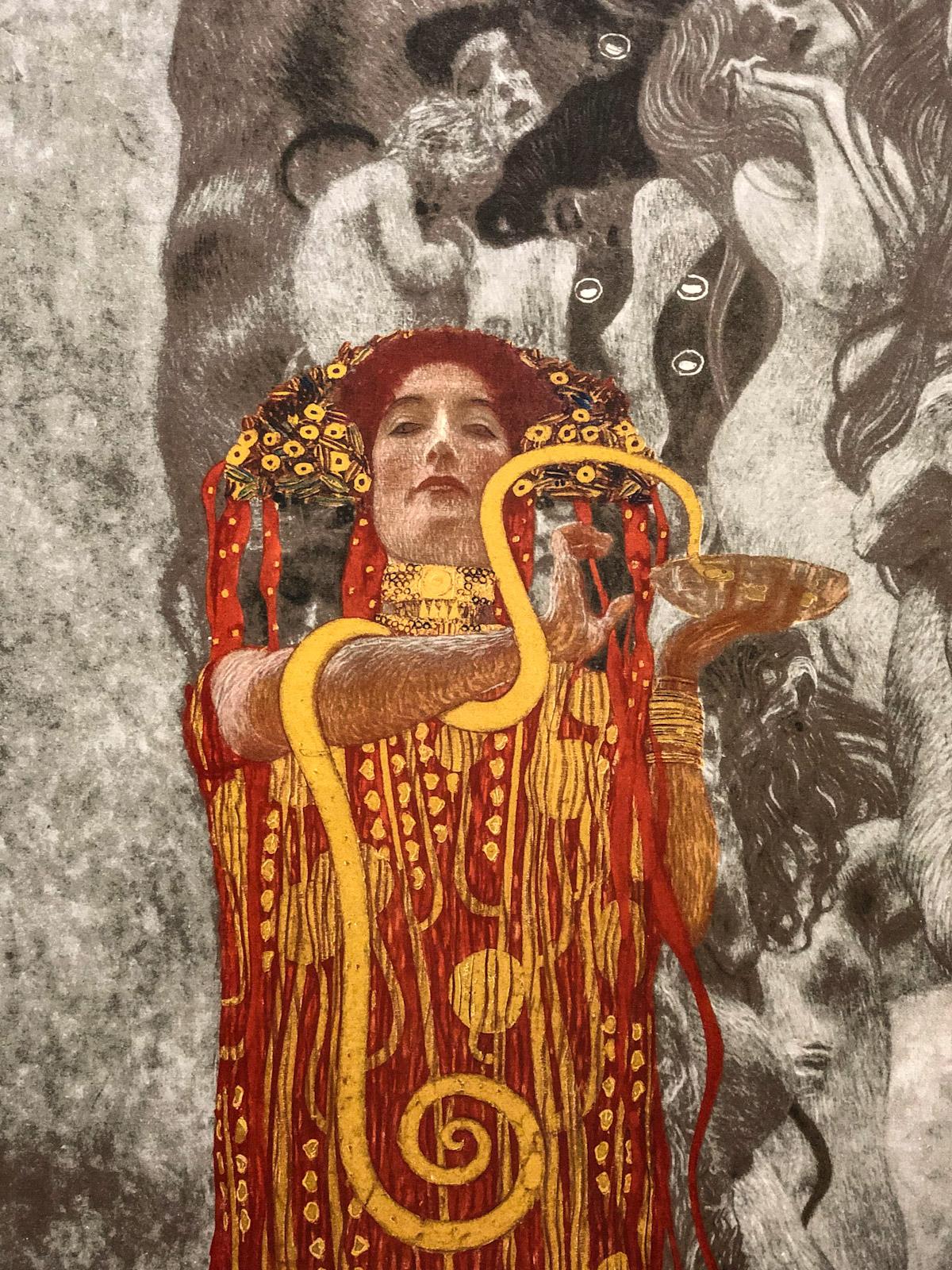 Medicine by Klimt, Vienna, Austria