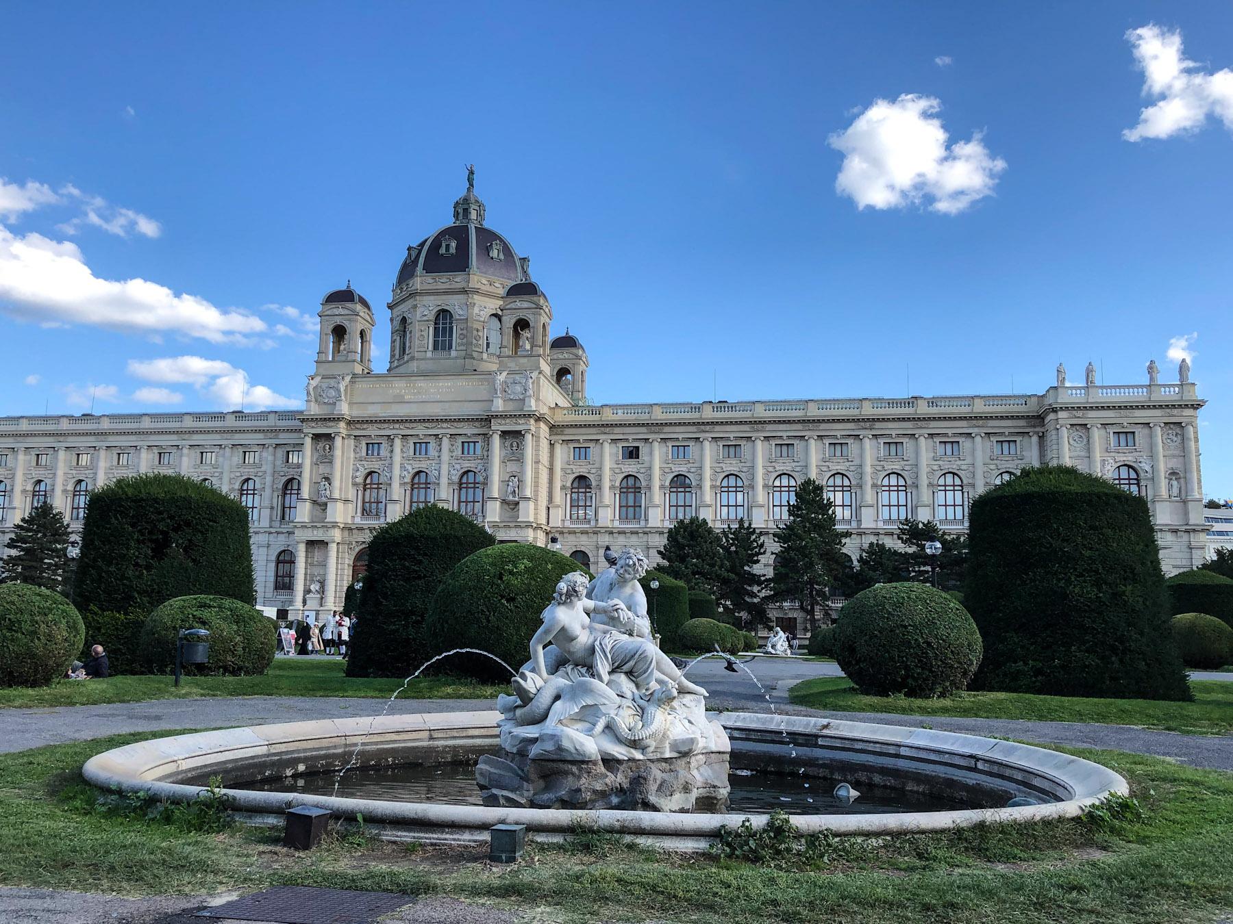 Maria Theresien Platz, Vienna, Autria