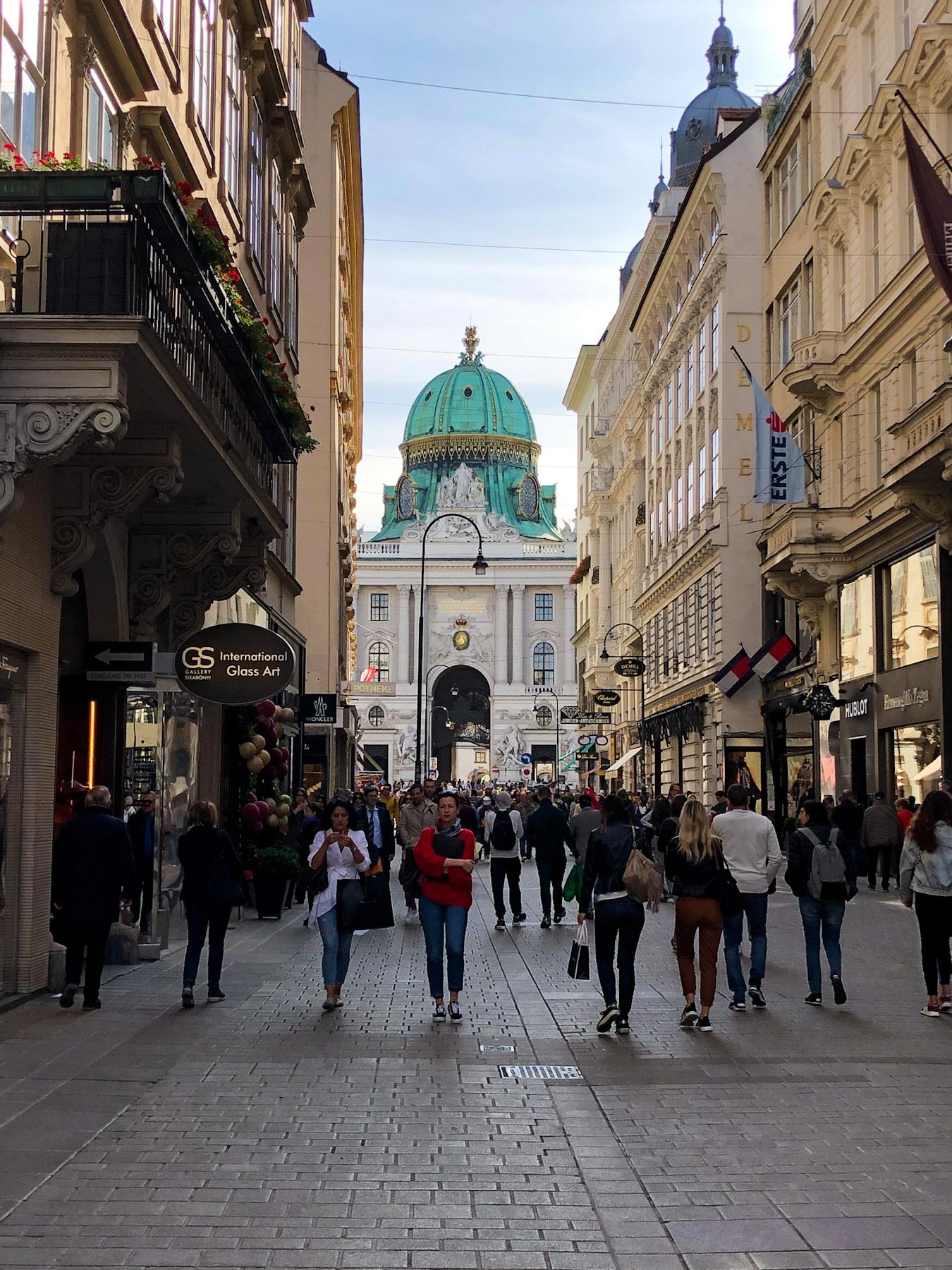 Kohlmarkt, Vienna, Austria