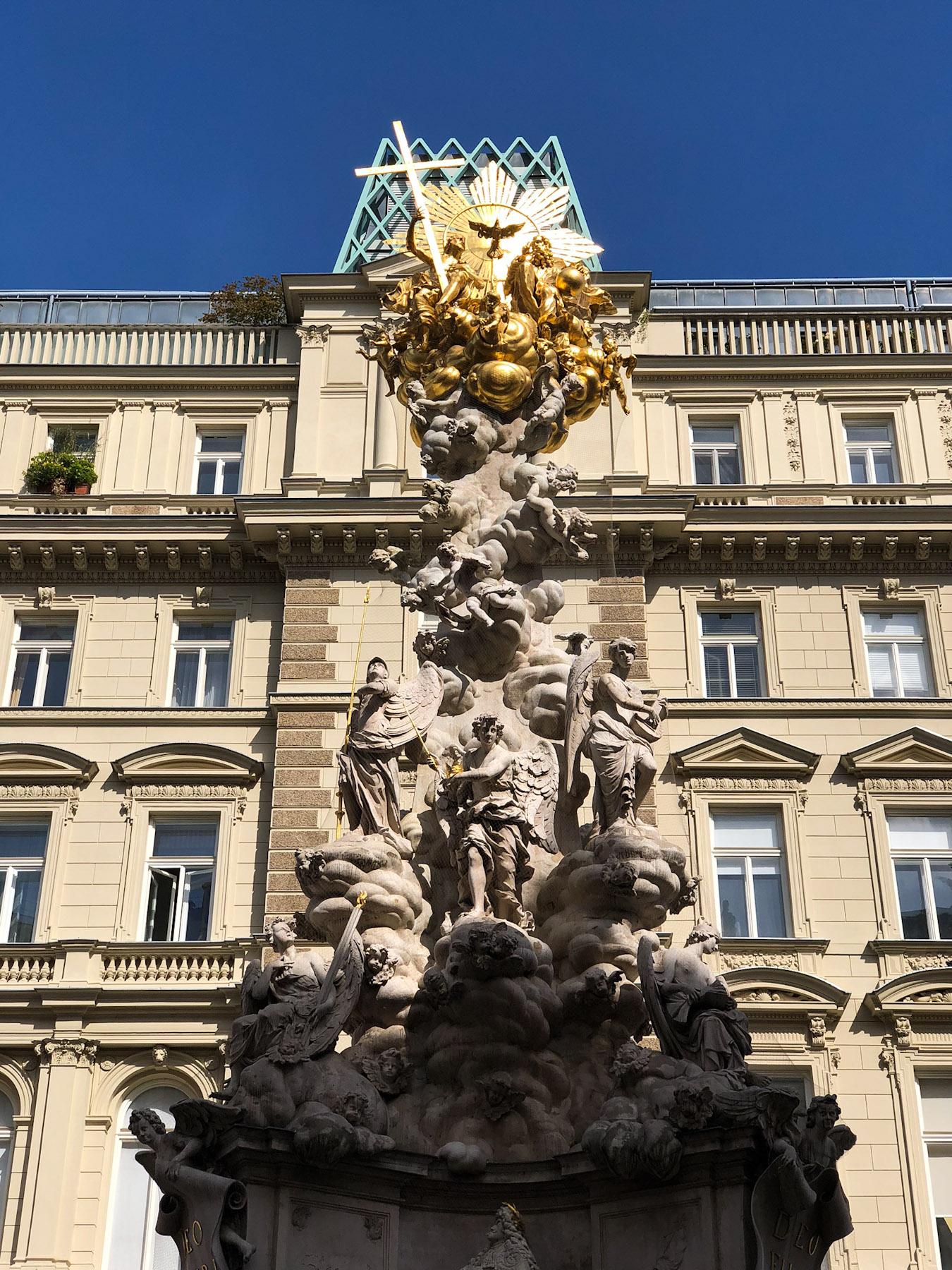 Wiener Pestsäule, Vienna, Austria