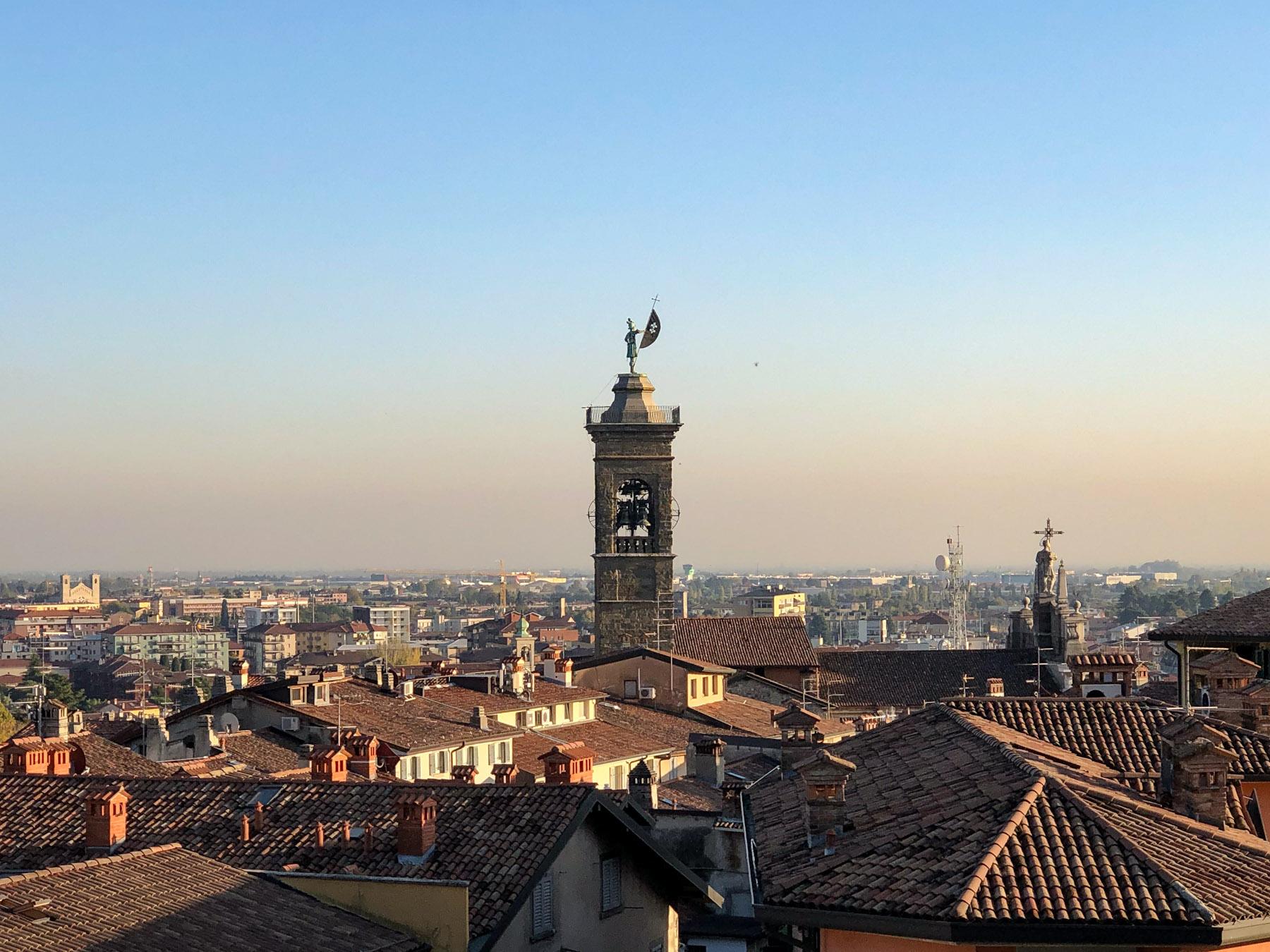 Campanile Sant'Alessandro della Croce, Bergamo, Italy