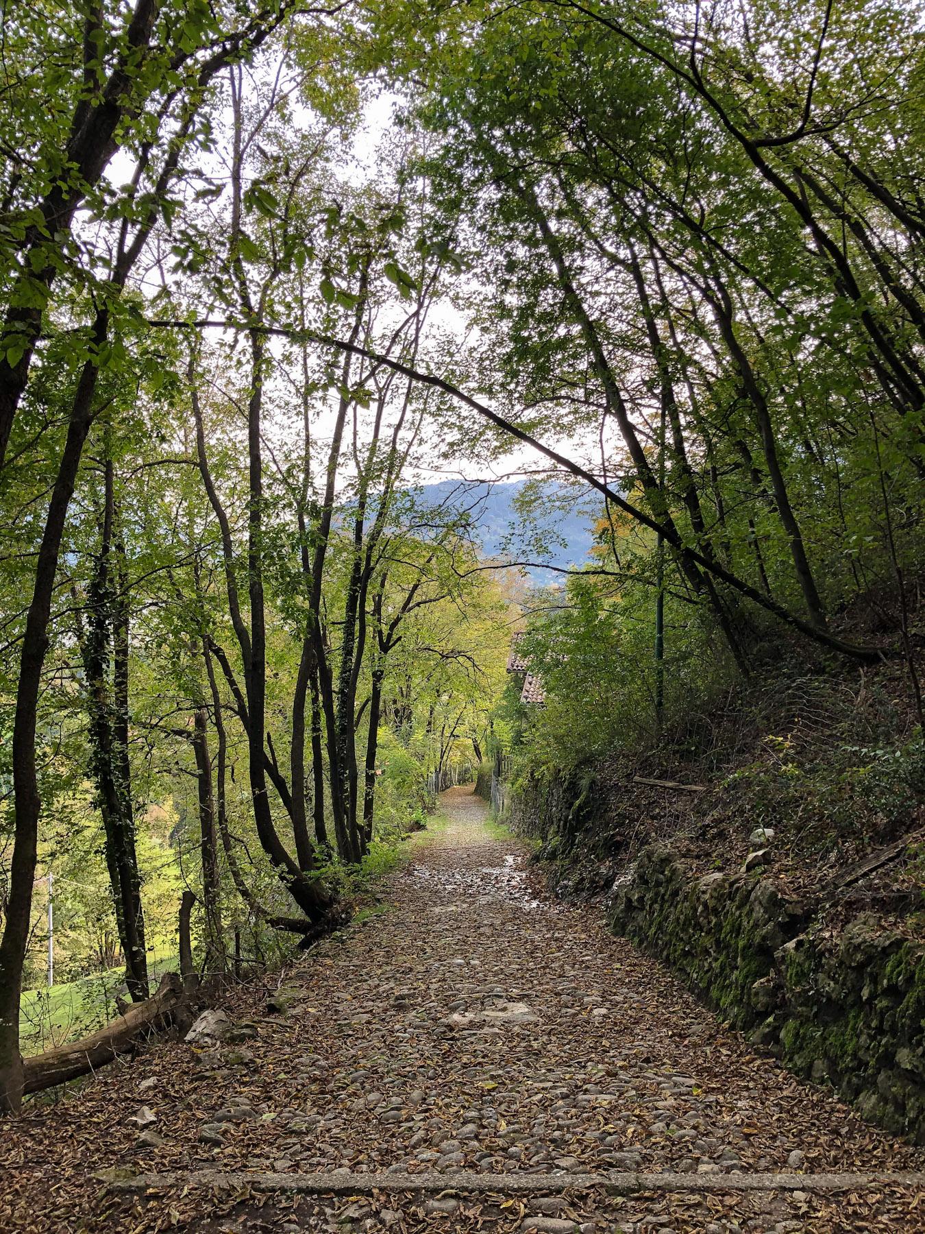 Chiesa di San Martino Trail, Griante, Italy