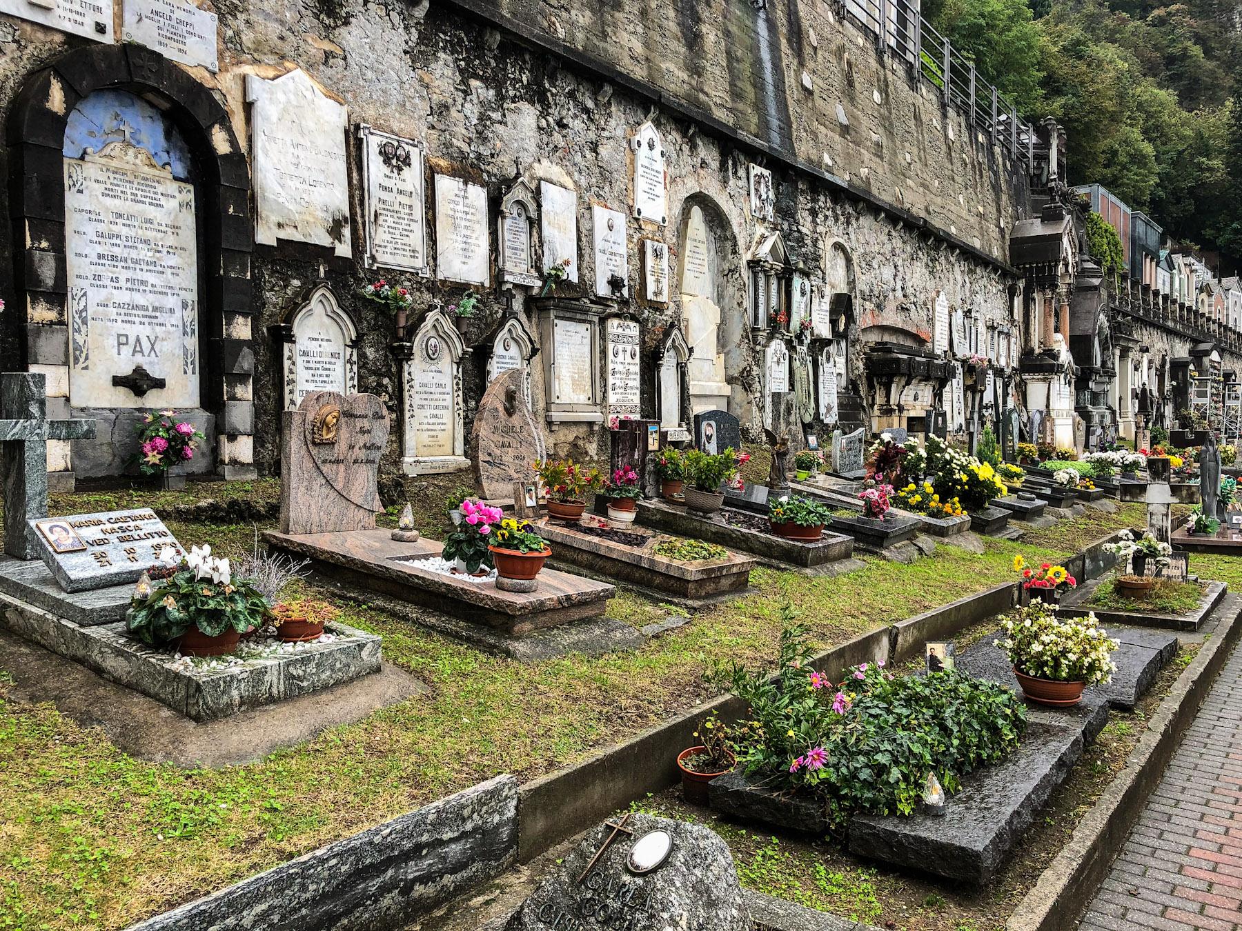 Cimitero di Varenna, Italy