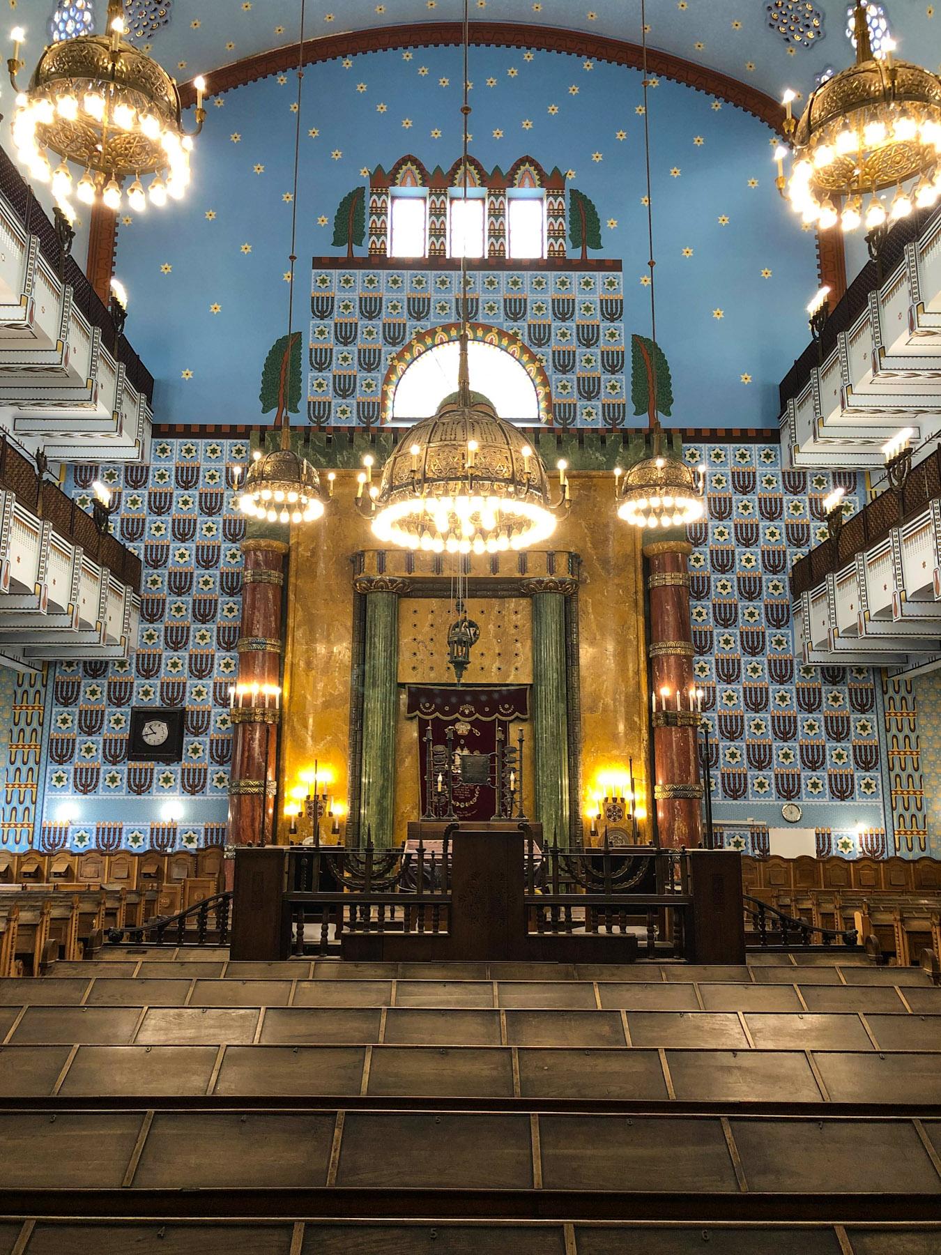 Kazinczy Street Synagogue, Budapest, Hungary
