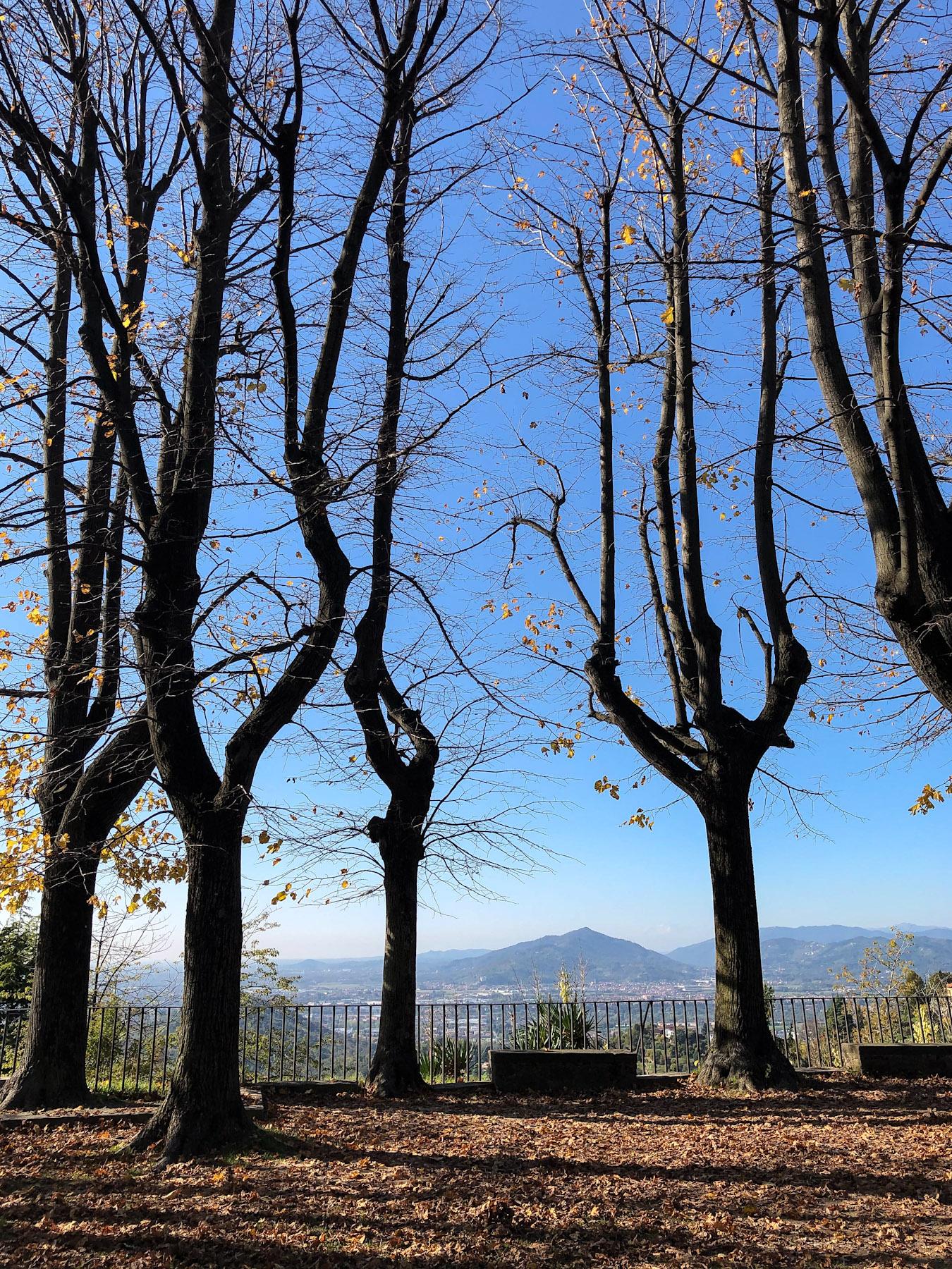 Parco del Castello di San Vigilio, Bergamo, Italy