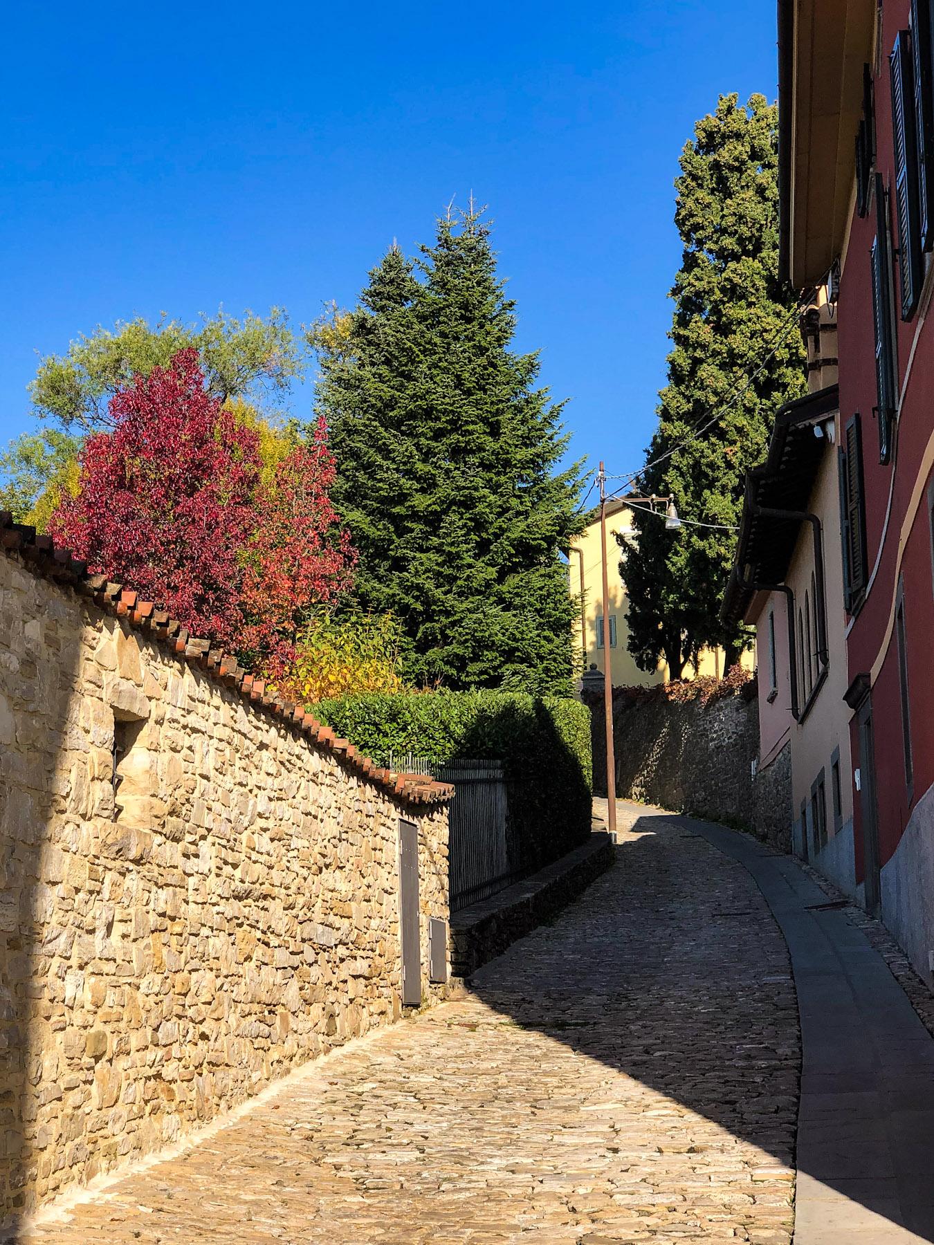 Salita dello Scorlazzone, Bergamo, Italy