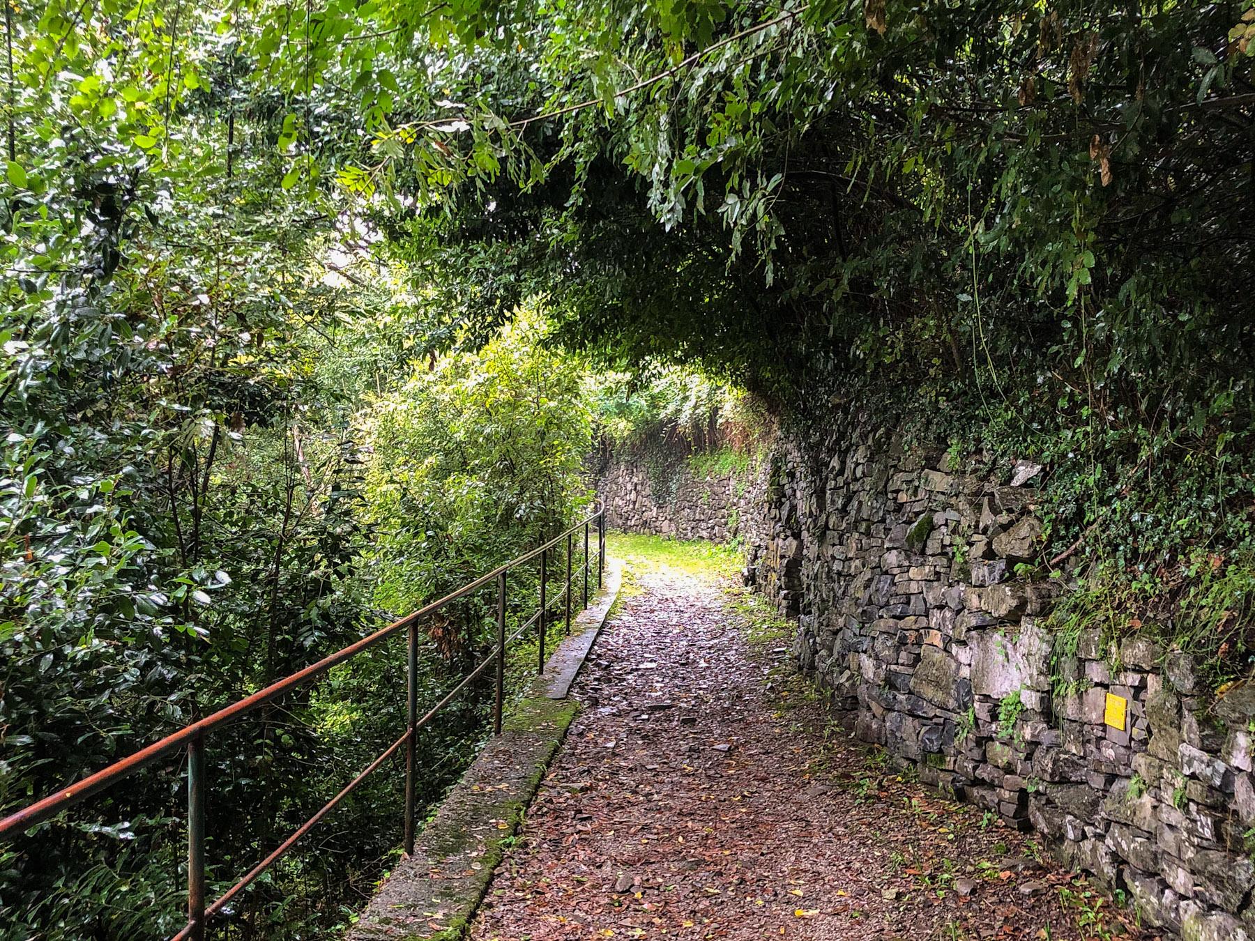 Greenway dei Patriarchi, Varenna, Italy