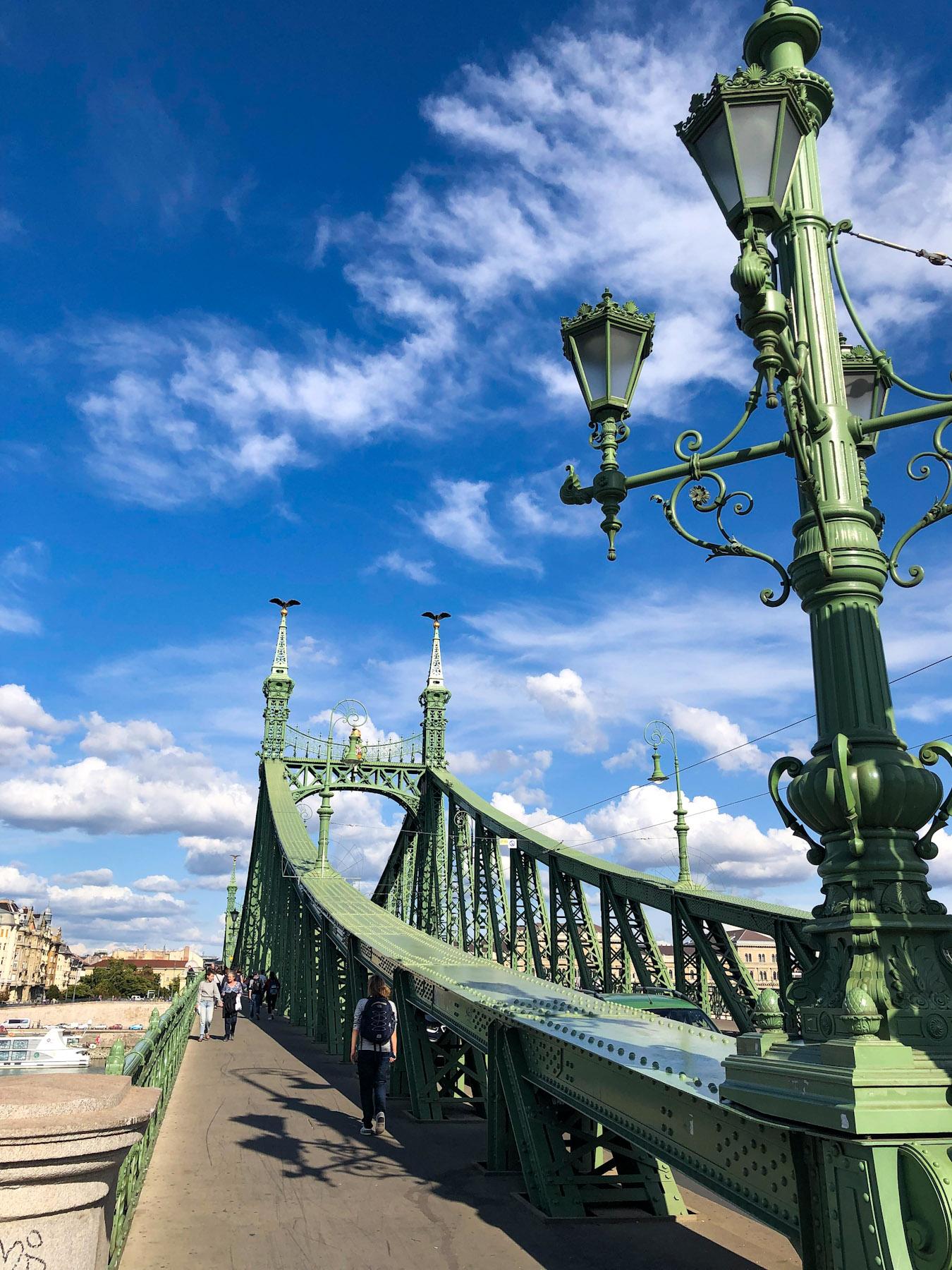 Szabadság Bridge, Budapest, Hungary