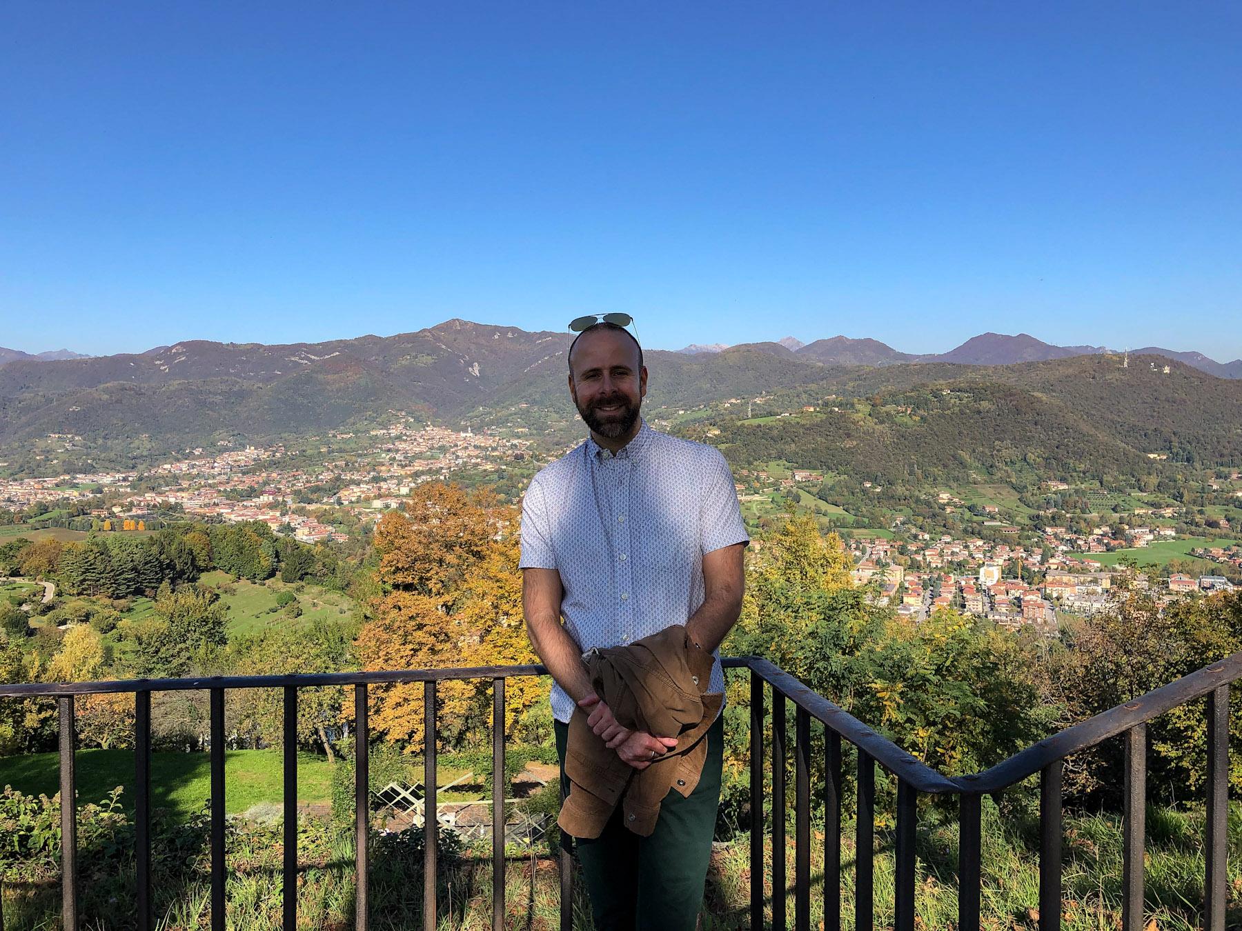Well-Traveled Fella in Bergamo, Italy