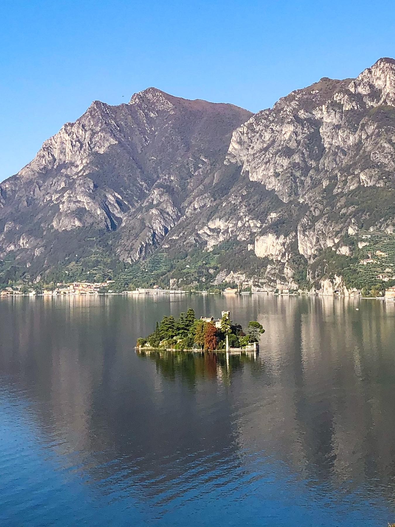 Isola di Loreto, Lago d'Iseo, Italy