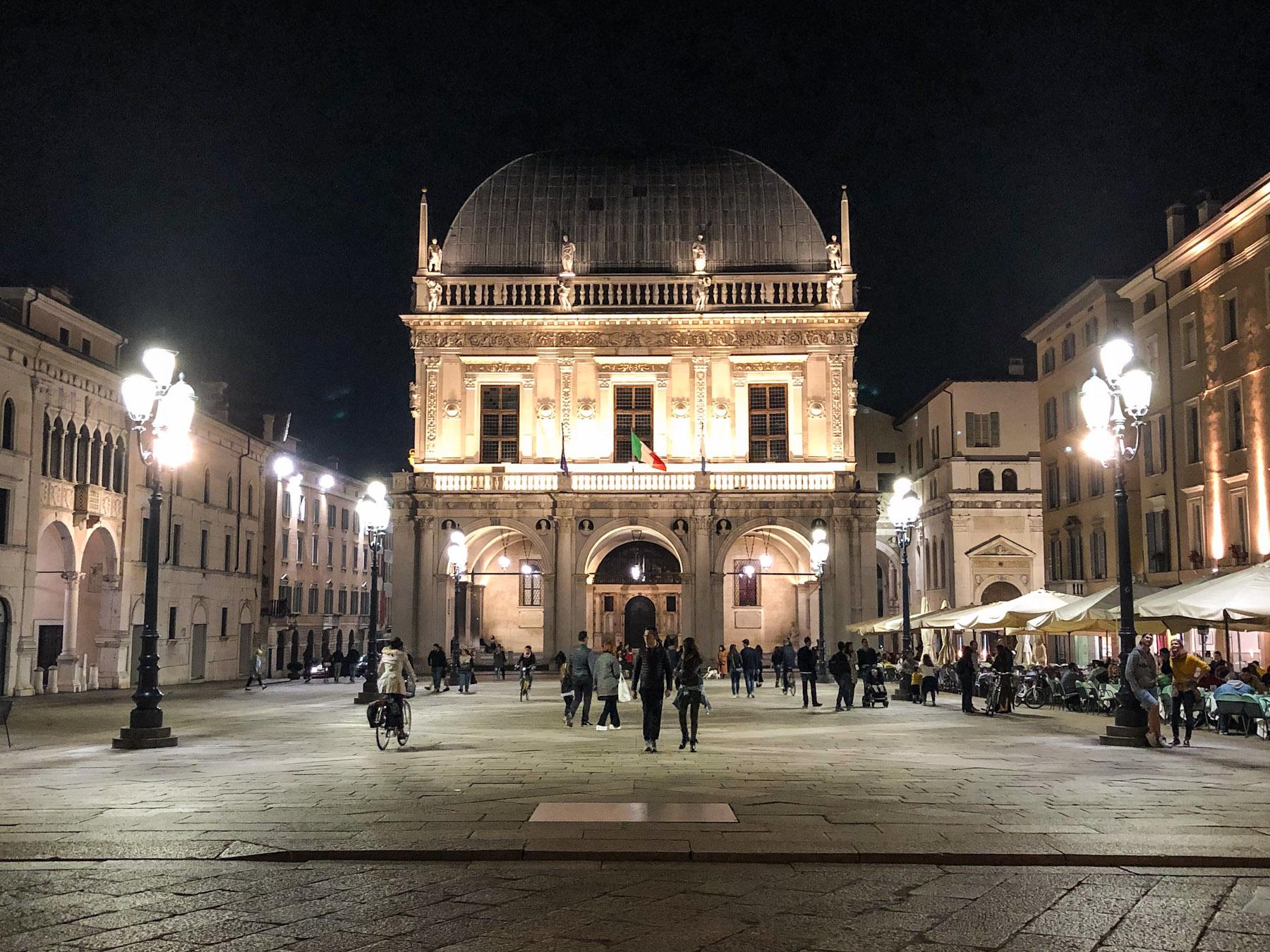Piazza della Loggia, Brescia, Italy